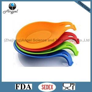 Wholesale Kitchen Utensil Silicone Spoon Holder Siliocne Spoon Rest Sk01