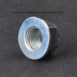 Carbon Steel 8.8 Grade Insert Flange Lock Nut (CZ011) pictures & photos