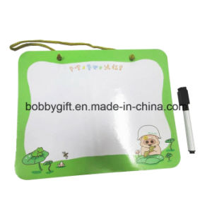 Magnetic Writing Board Fridge Magnet with Erasable Pen pictures & photos
