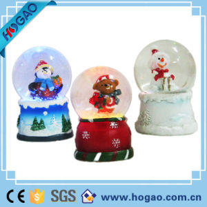 Glass Ball Christmas Snow Globe (HG148) pictures & photos