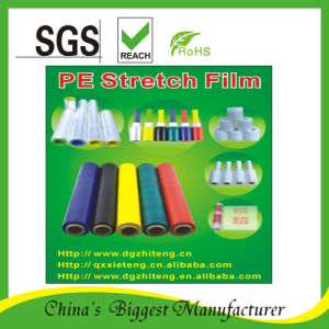 Color Stretch Film Green, Black, Yellow, Blue, Red, Print Logo Film pictures & photos