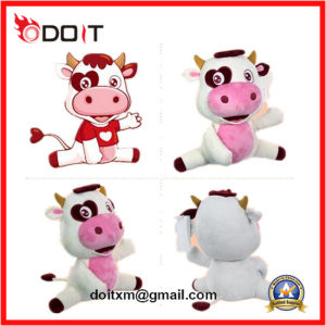 OEM Chinese Custom Made Plush Toy Cow with Certificates pictures & photos