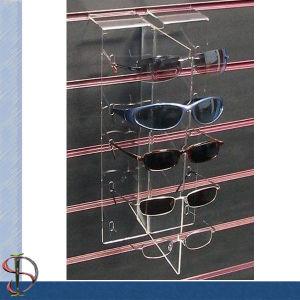 Acrylic Slatwall 5 Pairs Sunglass Display