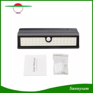 44 LED New Design Motion Sensor Garden Outdoor Solar LED Wall Light pictures & photos