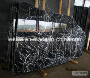 Chinese Cheapest Black Marble-Nero Marquina Marble on Sales pictures & photos