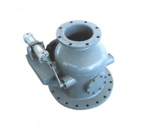 Pneumatic Flanged Thermal Power Plant Dry Ash Inlet Valve (GJQ641FM) pictures & photos
