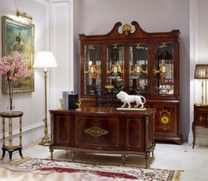 Classical Wooden Bookroom Furniture pictures & photos