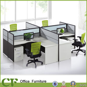 Custom Made Modern Elegant Teaming Desk Workstation Divider pictures & photos