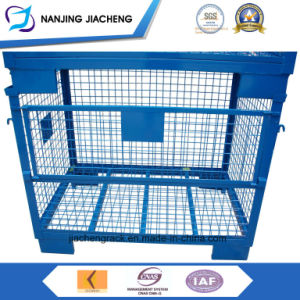 Popular Foldable and Stackable Steel Stillage with Powder Coated pictures & photos