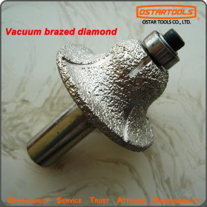 Vacuum Brazed Diamond Profile Wheels Engraving Router Bit for Granite pictures & photos