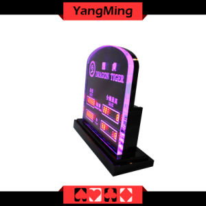 Dragon LED Limited Sign (YM-LC05) Casino Table pictures & photos