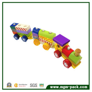 Fashion Educational Children Wooden Train with 3 Carriages pictures & photos