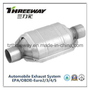 Car Exhaust System Three-Way Catalytic Converter #Twcat021 pictures & photos