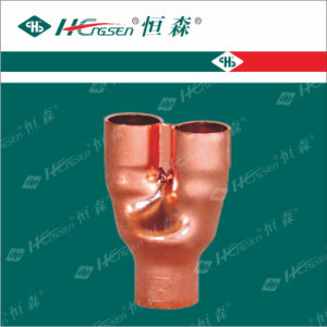 Distribute Connector/Tee/Copper Pipe Fitting/Pipe Fitting pictures & photos