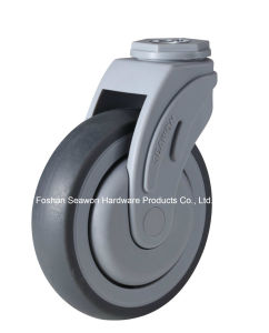 Bolt Hole Type Plastic Medical TPR Caster pictures & photos