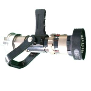 Fire Hose Fog Nozzle with GOST Coupling pictures & photos