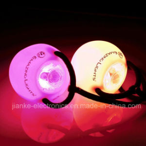Custom Flashing LED Dancing Poi Ball with Logo Printing (3560) pictures & photos