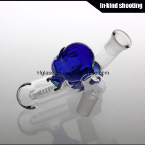 Cool Angled Joint Lacunaris Inline Ashcatcher in 14.4mm 18.8mm Glass Smoking Ash Catcher 14mm 18mm Ashcatchers pictures & photos