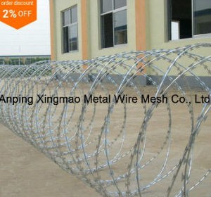 Hot Dipped Galvanized Concertina Razor Barbed Wire pictures & photos