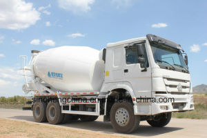 8m3 336HP Sinotruk HOWO 6X4 Heavy Duty Cement Mixer Truck pictures & photos