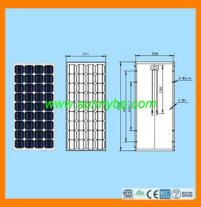 Solar Panel 24V20W-200W Monocrystalline Module pictures & photos