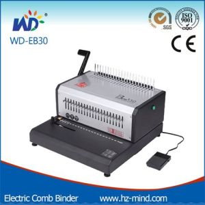 (WD-EB30) Office Binding Machine Comb Binding Machine pictures & photos