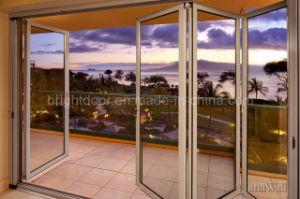 Aluminum Door Profile Luxury Villa Entrance/Exterior Door pictures & photos