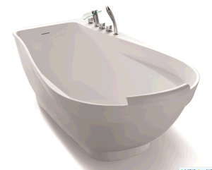 Large Capacity Solid Surface Bathtub pictures & photos
