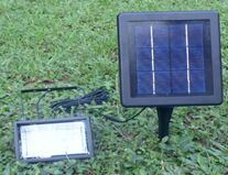 2.5W Outdoor Solar LED Light with Solar Panel for Garden Lawn Lighting