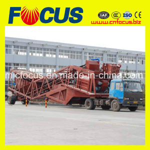 25-120m3/H Mobile Concrete Mixer Plant with Low Price pictures & photos