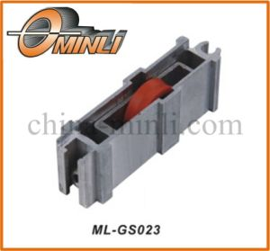 Aluminum Metal Bracket with Pulley (ML-GS023) pictures & photos