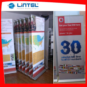 Wide Base Display Stand Advertising Roll up Banner (LT-02C) pictures & photos