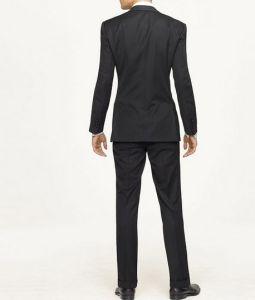 Korea Style Slim Fit Black Business Suit Sets Men pictures & photos