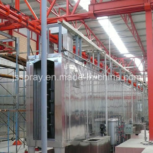 New Electrostatic Powder Coating and Spray Line/Machine pictures & photos