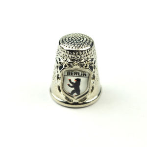 Embossed Bear Thimble Souvenir for Gift pictures & photos