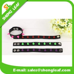 New Arrival Soft PVC Rubber Bracelet pictures & photos