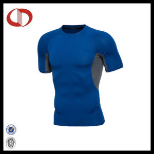 Four Colors High Quality Compression Gym Running Fitnesst Shirts pictures & photos