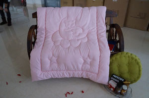 Smart Baby Pink Brushed Fabric Quilt for Baby pictures & photos