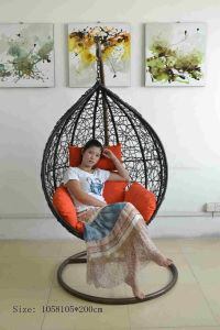 Home Swing Rattan Portable Hanging Chairs for Bedrooms Egg Swing Chair Outdoor Swing Sets for Adults