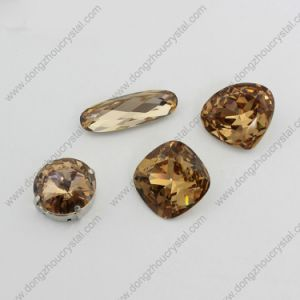 Wholesale Light Smoked Topaz Jewelry Stone for Fashion Jewelry pictures & photos
