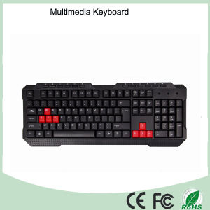 Durable Top Quality Game Keyboard Multimedia (KB-1688-B) pictures & photos