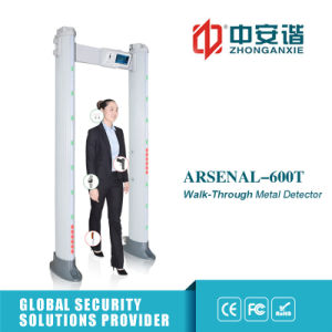 Touch Screen Display Outdoor Security Portable Metal Detectors pictures & photos