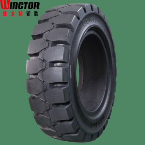 Low Cost Per Hour, Forklift Solid Tyre pictures & photos