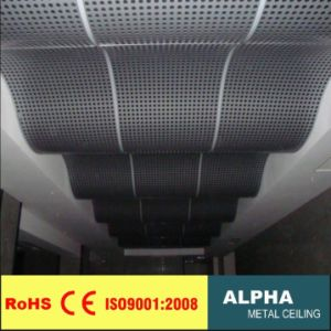 Aluminum Customed Ceilings Curved Indoor Solid Wide Panel pictures & photos