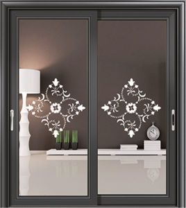 Fuxuan Design Security Aluminum Sliding Door pictures & photos