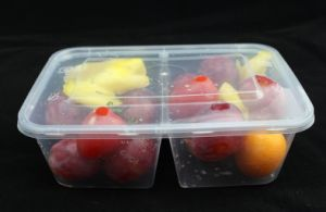 Hot Item Disposable PP Sushi Takeaway Food Container with Sealed Lid pictures & photos