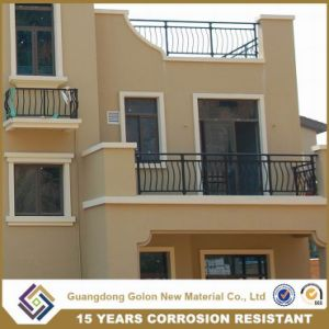 Bent New Style Balcony Railings with Ornament pictures & photos