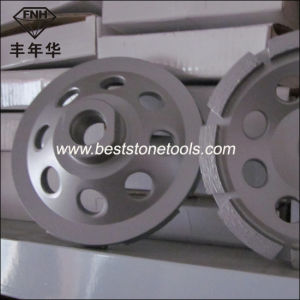 Cw-5 Metal Bond Diamond Single Grinding Cup Wheel for Stone