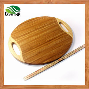 Eco-Friendly Round Bamboo Cutting Board pictures & photos