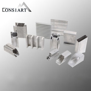 Constmart Solid Colors Aluminum Extruded Tube Reliable Performance pictures & photos